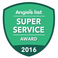 Angie's List Super Service Award 2016 - attackacrack.com